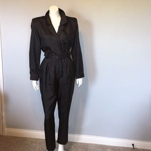 1980's Polyester Jumpsuit- It's Amazing!